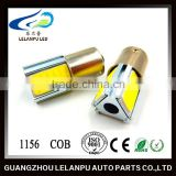 hot sale super bright led car light bulb12v 24V 20w ba15s 1156 COB auto interior led cob light