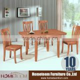 Chinese restaurant rectangle wood dining table