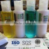 natural and organic 20-80ml customized decorative shampoo bottle /toilet hygiene products