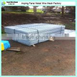 Galvanised sheet metal fencing mesh 2000x1200 25x25x2.5 panels weld wire trailer