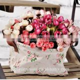 Hot recommended 15 head mini rose 6 color choose rose buds stars bract simulation flower Silk flowers artificial flowers