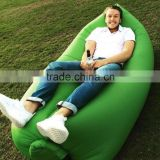 Waterproof air Instantly inflatable portable hangout sofa lounge chair sleeping bag for outdoor sports