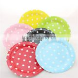 Paper Plates Birthday Party Decoration Wedding Supplies Tableware Disposable Food Tray