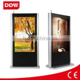60 Inch outdoor advertising led display screen prices floor standing lcd digital signage