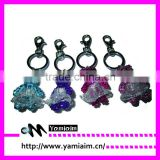 Promotional rhinestone phone keychain gift items