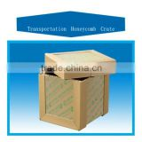 APT substitute for wooden crate, transportation honeycomb carton box with waterproof function