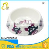 factory direct sale plastic pet ware melamine feeder                                                                         Quality Choice