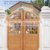 AJLY-602 Modern House main gate designs made in china