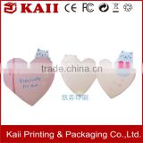 custom promotion heart shape handmade greeting card printing manufacturer in China                                                                                                         Supplier's Choice