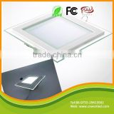 Shenzhen Manufacturer low price decoration panel lights round square recessed led light aluminum frame with glass panel                                                                         Quality Choice