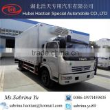DONGFENG 4x2 refrigerator truck in good condition hot sale