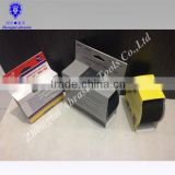 2015 CHINA PET/PP OEM Eco-friendly Durable 3m waterproof skateboard anti-slip tapes for STAIRS