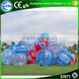 Factory price colorful bumper ball soccer,bubble ball pour le football                                                                                                         Supplier's Choice