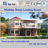Trade Assurance China Patented Foamed Cement Board with Built-in Steel Frame Prefab Villa House