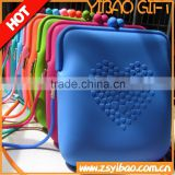 Fashion silicone handbag for shopping and promotiom