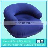 PVC Flocked Chair Inflatable Sofa