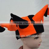 fascinator party hat/carnival felt hat