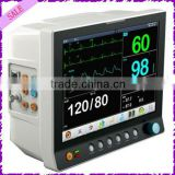 medical equipment six parameter monitor 12.1inch Touch screen CE marked ICU Bed monitoring