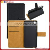 2016 China supplier real Leather Wallet Mobile Phone flip back cover case for htc desire 626 610 500
