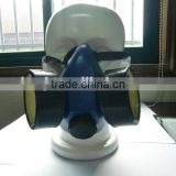 scientific research face mask 100% TPR frame military & chemical actived carbon filter gas face mask manufacturer in China