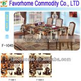 Disposable pvc placemats/table cover/table runner