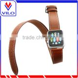 genuine leather watch band watch band buckle for iwatch                                                                                                         Supplier's Choice