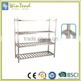 Wire shelving unit easy assemble corrosion resistance warehouse stainless steel shelving