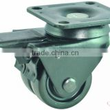 Double rnylon caster wheels ,nylon castor,twin casters