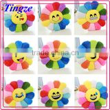 2015 Hot selling lovely plush custom whatsapp emoji pillow flower decorative pillow