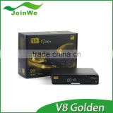 satellite receiver golden interstar external ir receiver V8 combo support youtube sunray 800 hd se satellite receiver