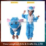 New arrival handmade cheap price mascot costume kids christmas blue cat animal costume