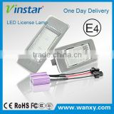 Hot selling auto tail light for Opel Astra J Estate 10~ Zafira-C 12~error free canbus led license plate light