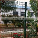 Electric Galvanized Steel Wire Mesh Fence With Post