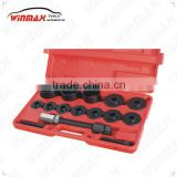 NEW WHEEL BEARING REMOVAL PULLER PUSHER ADAPTER TOOL SET AUTO REPAIR TOOLS WT04039