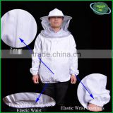 Beekeeping equipment necessary bee protection coverall suit/jacket made of 100% cotton or dacron                                                                         Quality Choice
