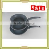 3PC forged grey non stick marble coating fry pan                                                                                                         Supplier's Choice