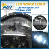 "China supply jeep wrangler 7inch led headlights for 7"" jeep headlight led hi low jeep jk led headlights 12v 24v"