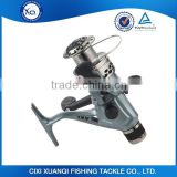 Grey color with plaiting spool 3BB combo fishing reel and rod