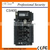 4 doors one sides rfid access control board panel C3-400 wiegand reader access control linux access control board