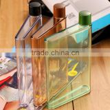 Memo bottle A5 Creative Flat Transparent Pp Material 420ml Paper Bottles My Bottles Christmas's Day Gifts Memobottle my bottle