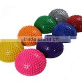 Wholesales Cheap Price PVC Small Inflatable Foot Massage Ball Half Bearing Massager