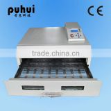 PUHUI T962C infrared reflow oven machine,desktop reflow oven,pcb reflow soldering machine,wave solder station,taian,china