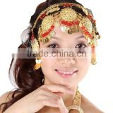 Belly Dance Costumes Accessory Performance Head wear, Fashion Headpiece for Girl (T012)