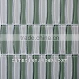 crystal-clear irregular glass mosaic-like bamboo for swimming pool tiles-8mm