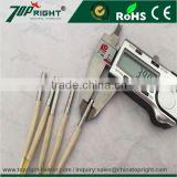 High Price!!! 4mm stainless steel superalloy industrial electric cartridge heater with J type thermocouple