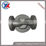 Best quality sand casting iron cast valve parts,hot sale ball float steam trap,ductile iron water type valve parts