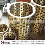 Centrifugal casting brass quality assured oem oilness flange bearing bushings
