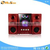 2013 most popular 2.1 sound system 8 inch subwoofer speakers with USB,,SD,,FM,Remote made in china N-21
