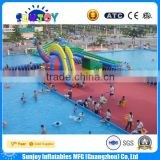2016 top quality above ground swimming pool cheap frame pool set durable metal frame pools for sale