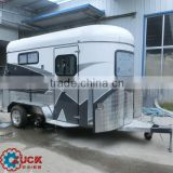 Deluxe 2 horse trailer with 2 access doors